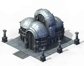 3D Future City - Rotunda