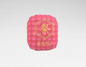 3D model Funeral Paper Bag v1 002