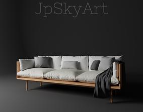 3D model Modern sofa room seating