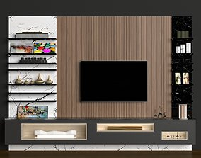 TV UNIT modern lounge 3D model