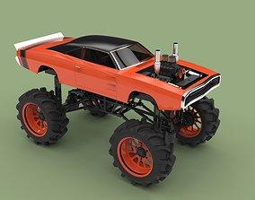 3D model Mud truck 2