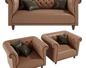 3D model Sofa York Asnaghi