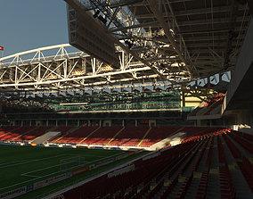Football Soccer Stadium Spartak Moscow - Otkrytiye 3D