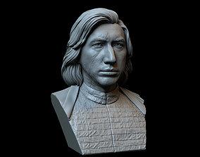 Kylo Ren aka Ben Solo from Star Wars 3D printable model 1