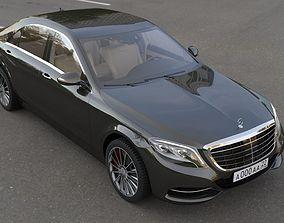 Mercedes W222 3D