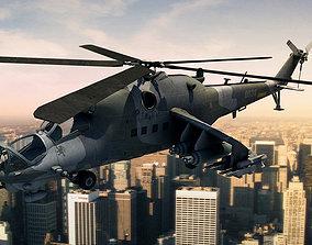 3D weapon Mi-24 Hind