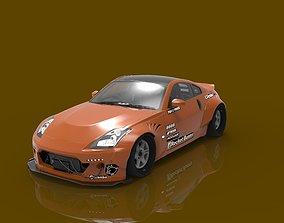 3D printable model Nissan Fairlady 350Z Rocket Bunny