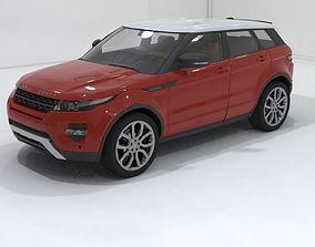 Range Rover Evoque luxury hatchback SUV car 3D model