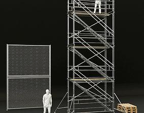 scaffolding scaffold 3D