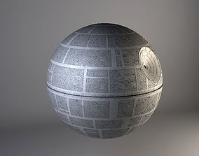 base 3D model Star Wars Death Star