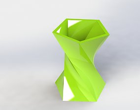 Decorative Flower Pot 12 3D printable model
