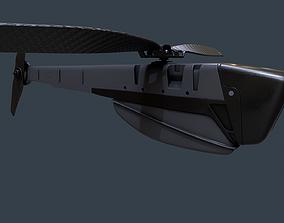 Black Hornet Military Drone Pbr 3D model