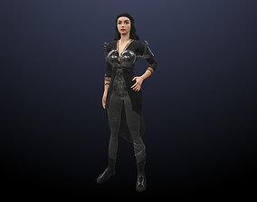 3D asset Hero Woman
