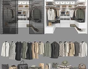 Walk-in Closet Poliform Ubik 3 3D model