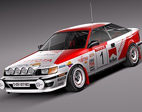 3D Toyota Celica -1985-1989 st165 RALLY