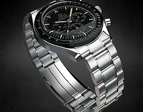 Omega Speedmaster Watch clock 3D model