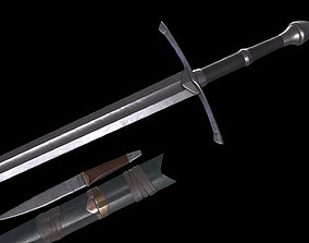 3D model Strider Sword LOTR