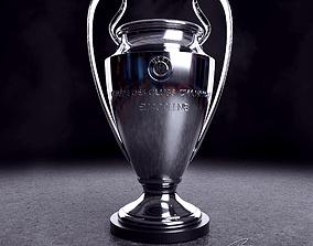 3D model UEFA Champions League Trophy