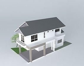 House 2 FL P206 3D model