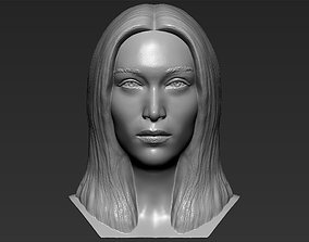 Bella Hadid bust 3D printing ready stl obj formats