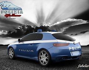 3D model Alfa Brera Polizia std mat