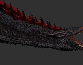 character Dragon 3D print model