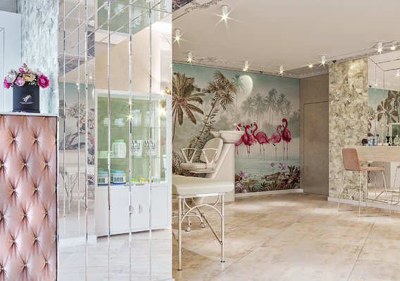 Beauty salon interior design by 3DAG