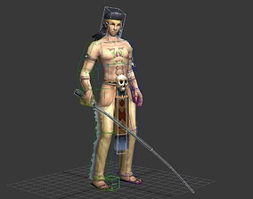 3D asset Egyptian supervisor