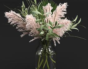 3D model Bouquet grass indoor