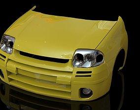 3D asset Renault Clio 172 RS PARTS