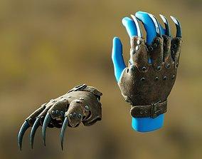 Claws Gauntlet 3D asset