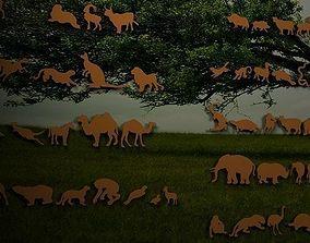 Animals jewerly parts 3D print model