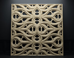 Paneling belonging to Carlisle Cathedral 1842 V4 3D model