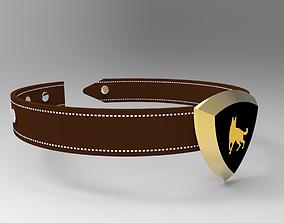 3D pet collar