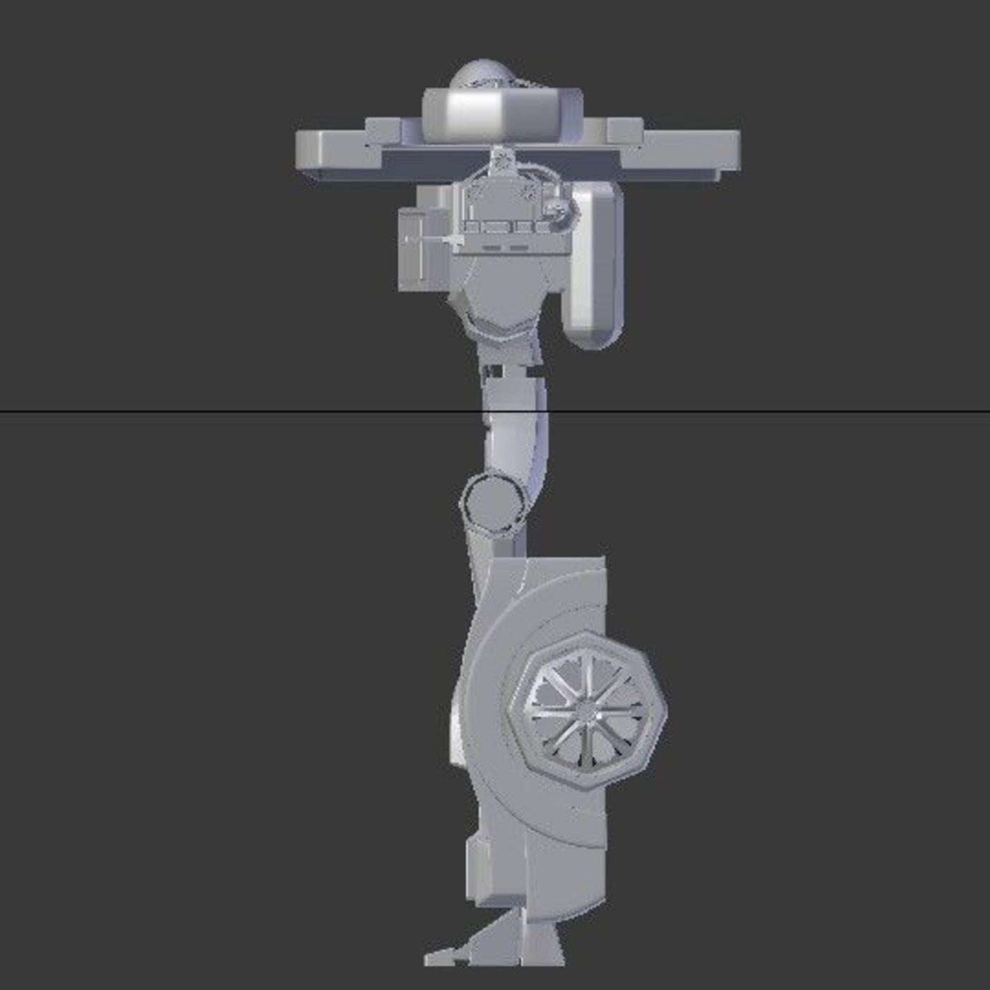 flamethrower trooper robot