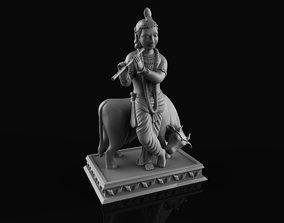 3D printable model Lord Krishna Traditional