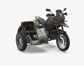 3D asset PubG Motorcycle
