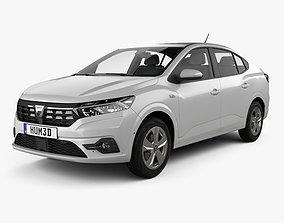 2024 3D Dacia Logan 2021