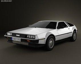 DeLorean DMC-12 1981 3D model