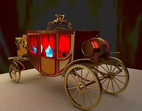 3D model Chinese carriage