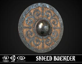 Shield Buckler 01 3D