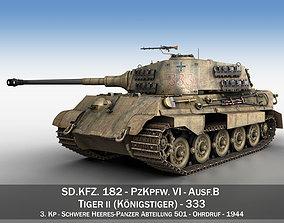 Panzerkampfwagen VI - Ausf B - Tiger II - 333 3D