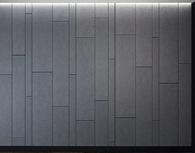 3D model Wall Panel Set 4