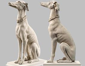 3D asset Roberto Giovannini Gray Hound LowPoly