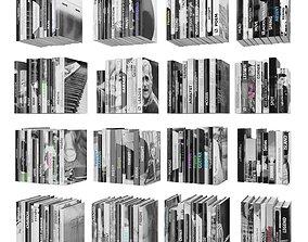 Books 150 pieces 2-9-1 3D model