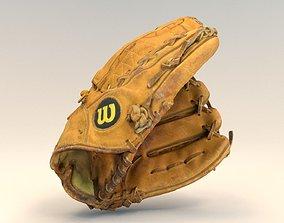 a2000 Baseball infielder glove 3D