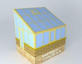 aluminium Alreyn winter garden 3D model