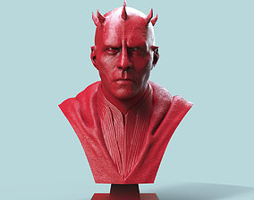Darth Maul Bust 3D print model