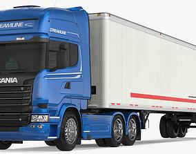 Scania Streamline Trailer Truck 3D