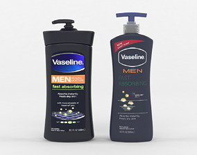 Vaseline Men Body and Face Lotion 3D model